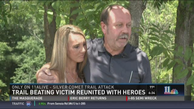 Silver Comet Trail attack victim reunited with heroes