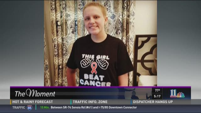 Cinderella teen beats cancer
