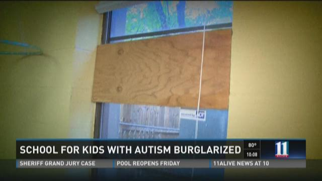 Autism school break-in