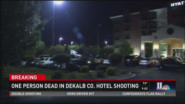 1 dead in DeKalb Co. hotel shooting
