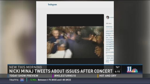 Nicki Minaj fans cite security problems after concert