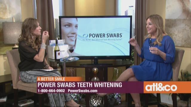 Power Swabs - A Brighter Smile