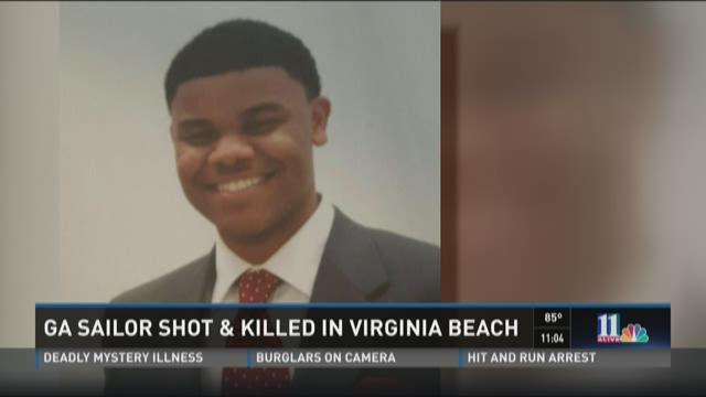 Georgia sailor shot to death in Virginia