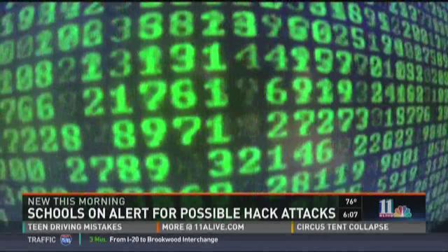 Schools on alert for possible hackers