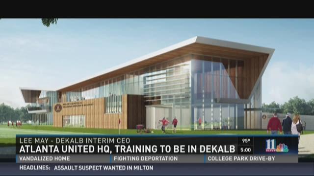 Atlanta United HQ, training facility to be in DeKalb County