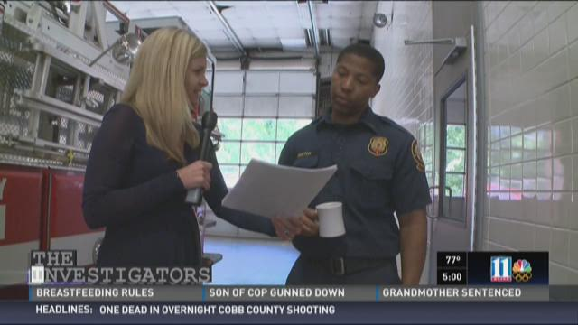 11Alive's Catie Beck spoke with Lt. Dorch when she