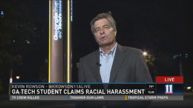 Ga. Tech student claims racial harassment