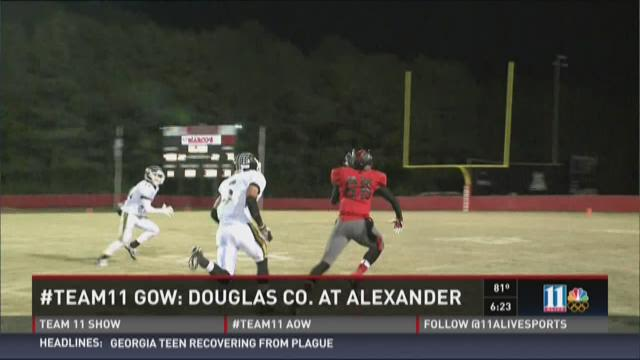 #Team 11 Game of the Week will be Douglas Co. at Alexander