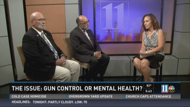 The issue: Gun control or mental health?
