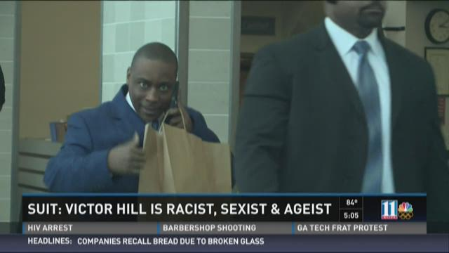 Lawsuit: Victor Hill is racist, sexist and ageist
