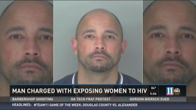 Man charged with exposing women to HIV