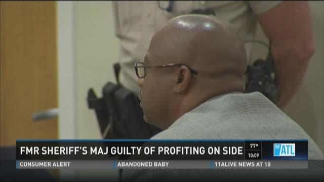 Former Gwinnett County sheriff's major guilty of profiting on side