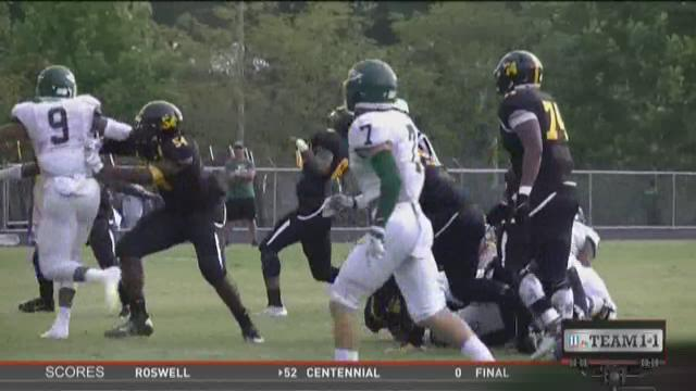 #Team11 - Week Two - Collins Hill at Central Gwinnett