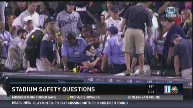 Stadium safety questions