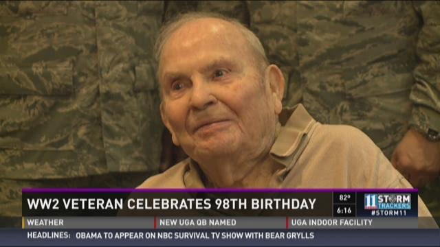 HERO CENTRAL: WW2 Veteran celebrates 98th birthday