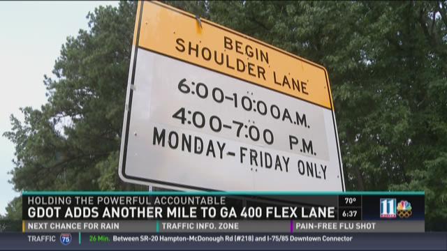 Commuter Dude: Ga. 400 flex lanes finally open
