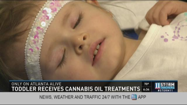 Toddler continues to improve thanks to cannabis oil