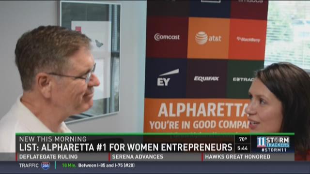Alpharetta tops list for women entrepreneurs