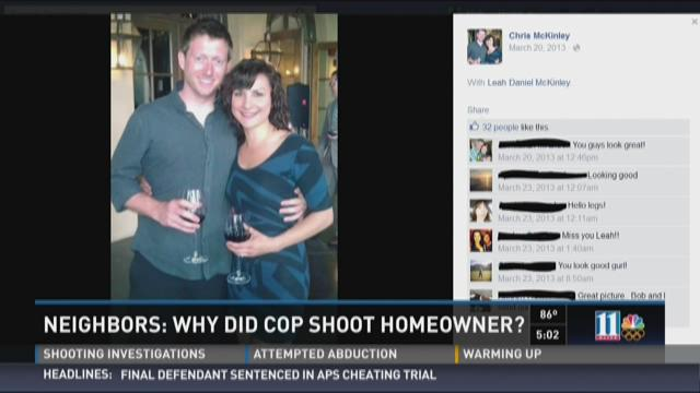 Neighbors: Why did cop shoot homeowner and his dog?