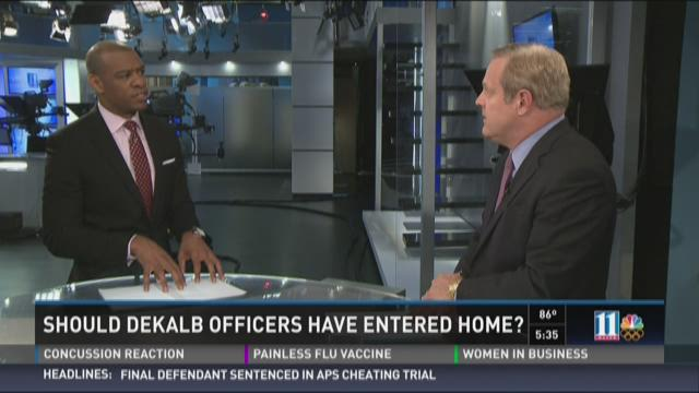 Analysis: Should DeKalb officers have entered home?