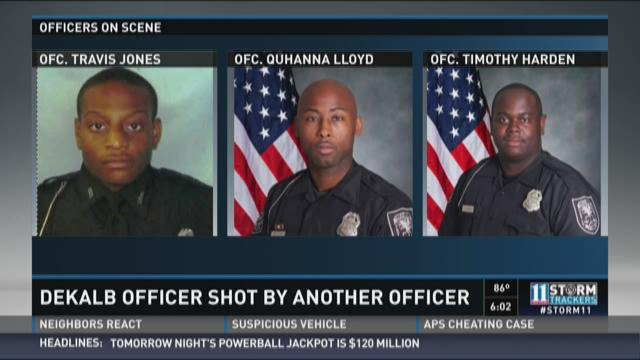 DeKalb officer shot by another officer