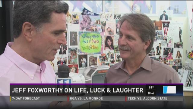 Jeff Foxworthy on life, luck and laughter
