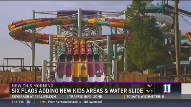 New Six Flags, White Water attractions for 2016