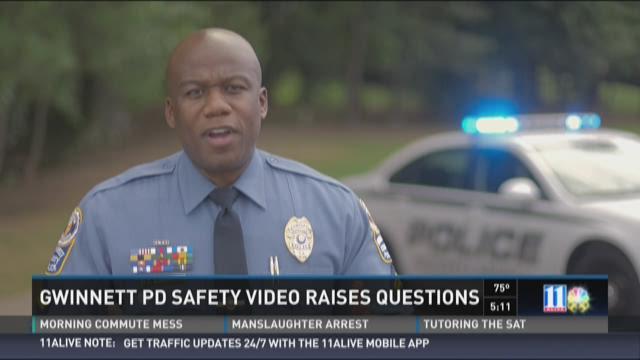 Gwinnett PD safety video raises questions