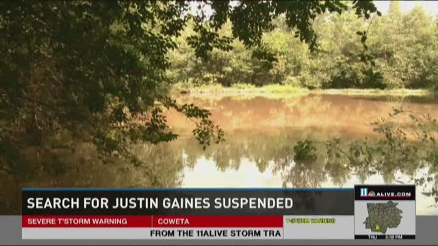 Search for Justin Gaines suspended