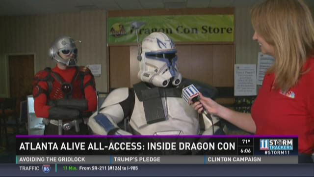 Labor Day weekend includes DragonCon, horrible traffic