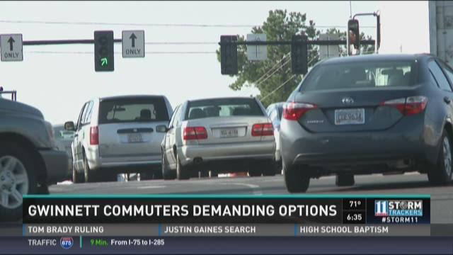 Commuter Dude: Gwinnett commuters demand options