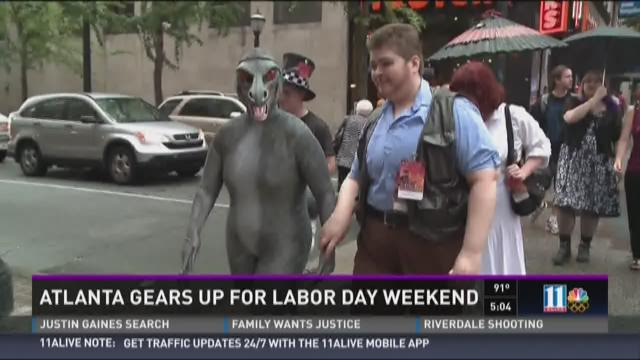 Atlanta gears up for Labor Day weekend