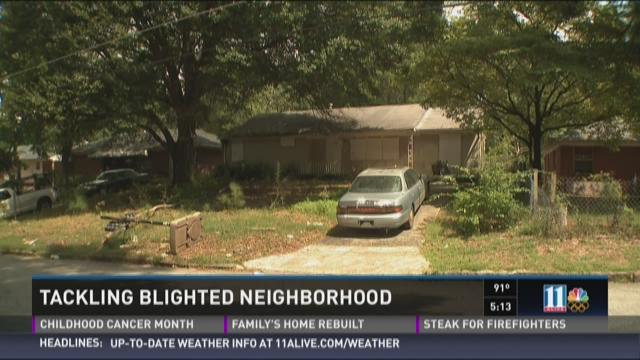 Tackling a blighted neighborhood