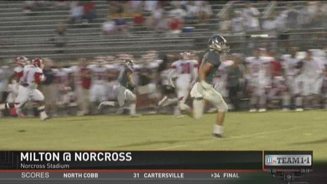 #Team11 - Week 3 - Milton at Norcross