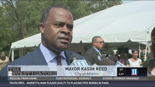 Atlanta Mayor Kasim Reed is speaking out on racy photos