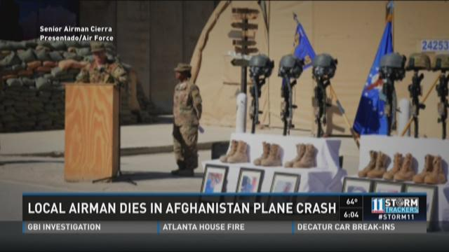 Local airman dies in Afghanistan plane crash