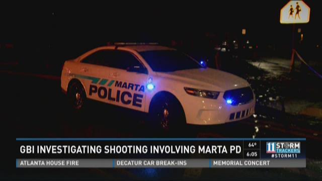 GBI investigating shooting involving MARTA PD