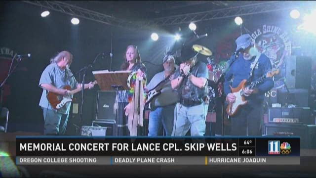 Memorial concert for Lance Cpl. Skip Wells