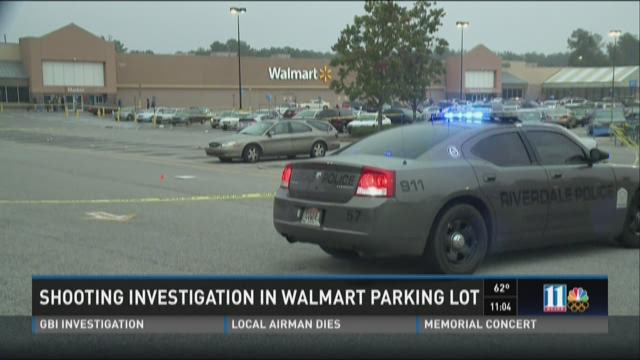 Shooting investigation in Walmart parking lot