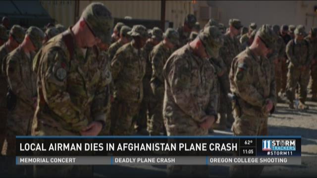 Local Airman dies in Afghanistan plane crash