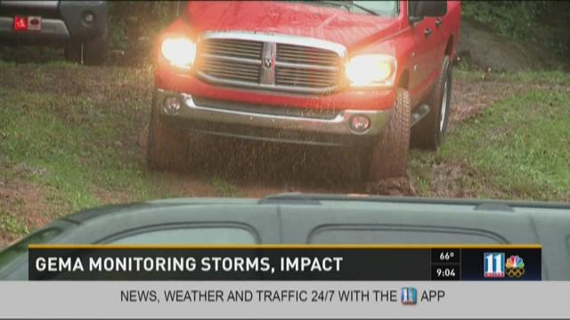 GEMA monitoring storms, impact