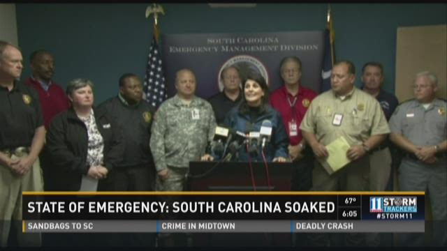 State of Emergency: South Carolina soaked