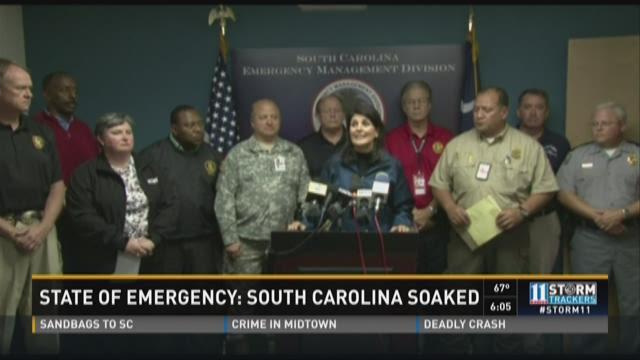 State of Emergency: South Carolina soaked