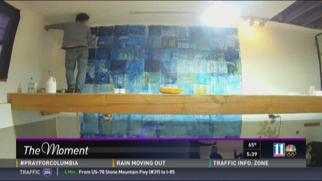 Warhol of Walmart paints for Emory University