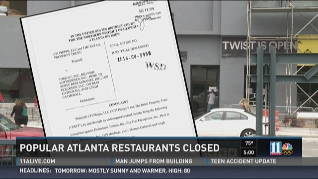 Popular Atlanta restaurant group closes up shop