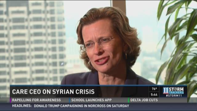 CARE CEO Michelle Nunn on Syrian crisis