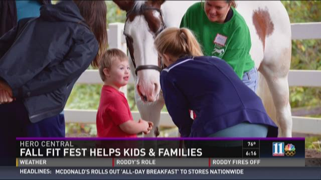 Fall fit fest helps kids and families