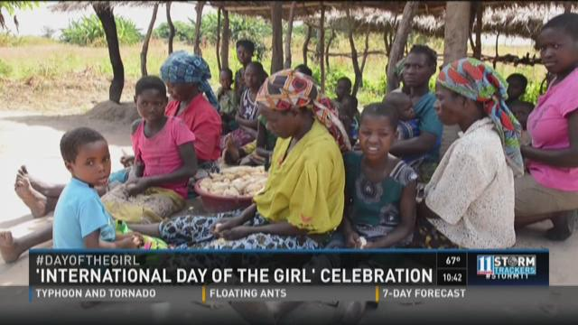 'International Day of the Girl' celebration