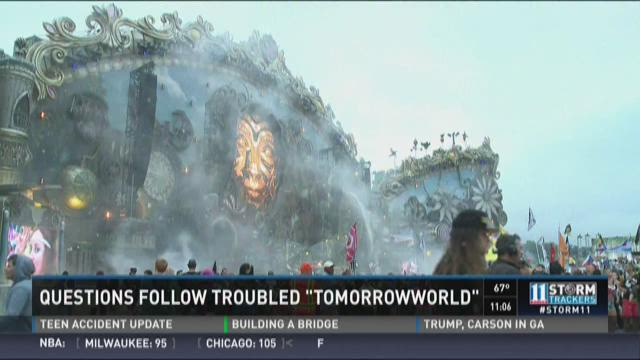 Questions follow troubled Tomorrowworld