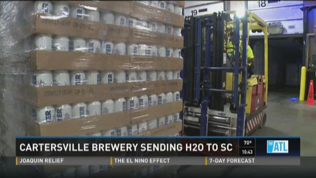 Cartersville brewery sending water to South Carolina